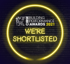 We're shortlisted at the 2021 CIBSE Building Performance Awards – twice!