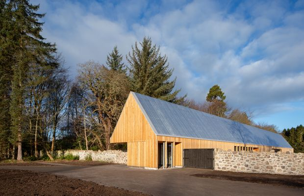Brodie Castle, Playful Garden Visitor Centre