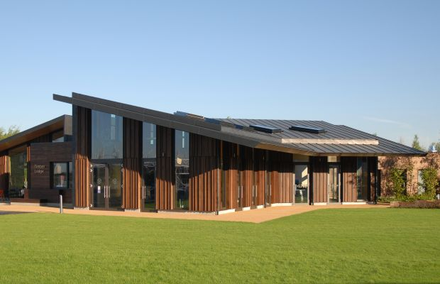 Queen Elizabeth Olympic Park Timber Lodge