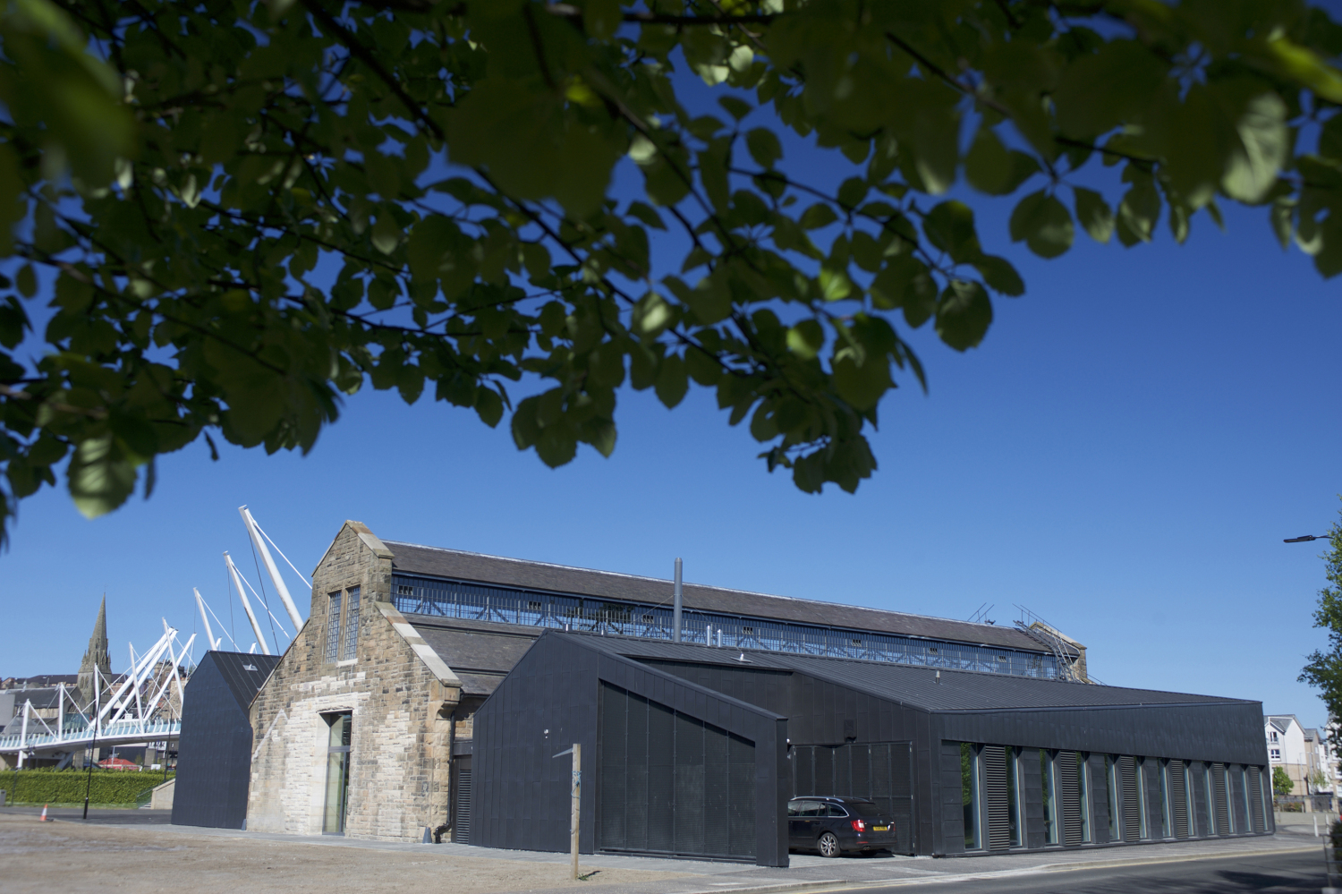 The Engine Shed, Stirling shortlisted for 'Public Use Project of the Year' © Rob McDougall