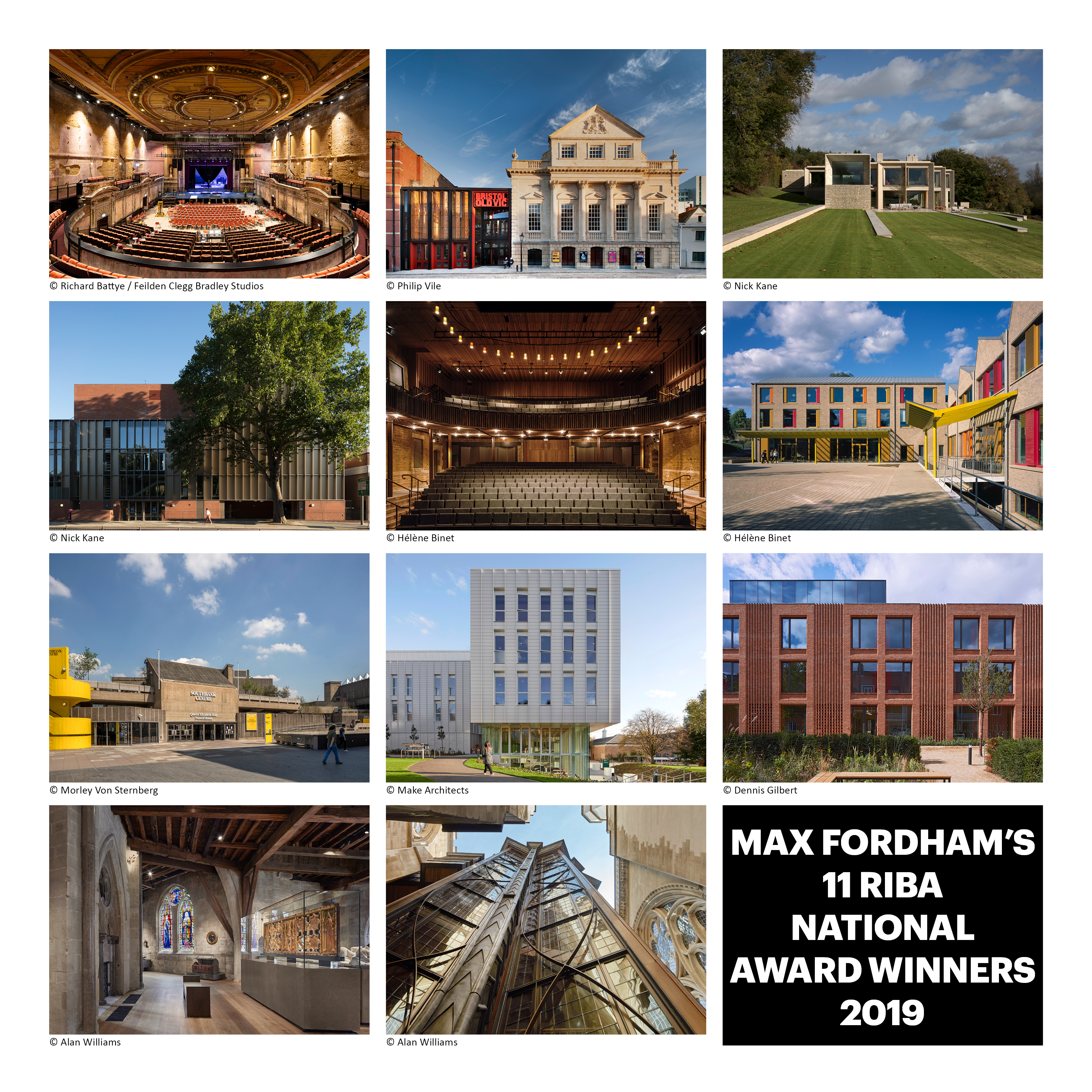 Max Fordham's 11 RIBA National Award Winners 2019