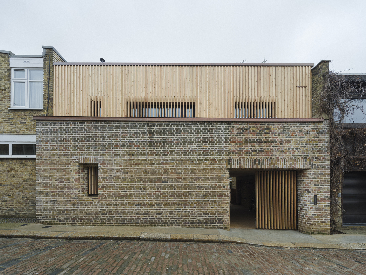 Max Fordham's House - shortlisted for Residential Building of the Year 2021