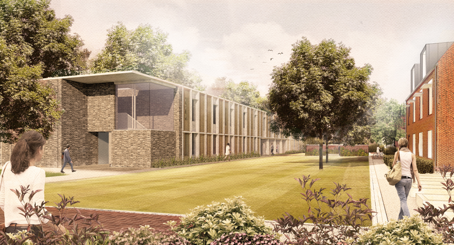 Cranmer Road: 59 bedrooms across 2 buildings. Image © Allies and Morrison
